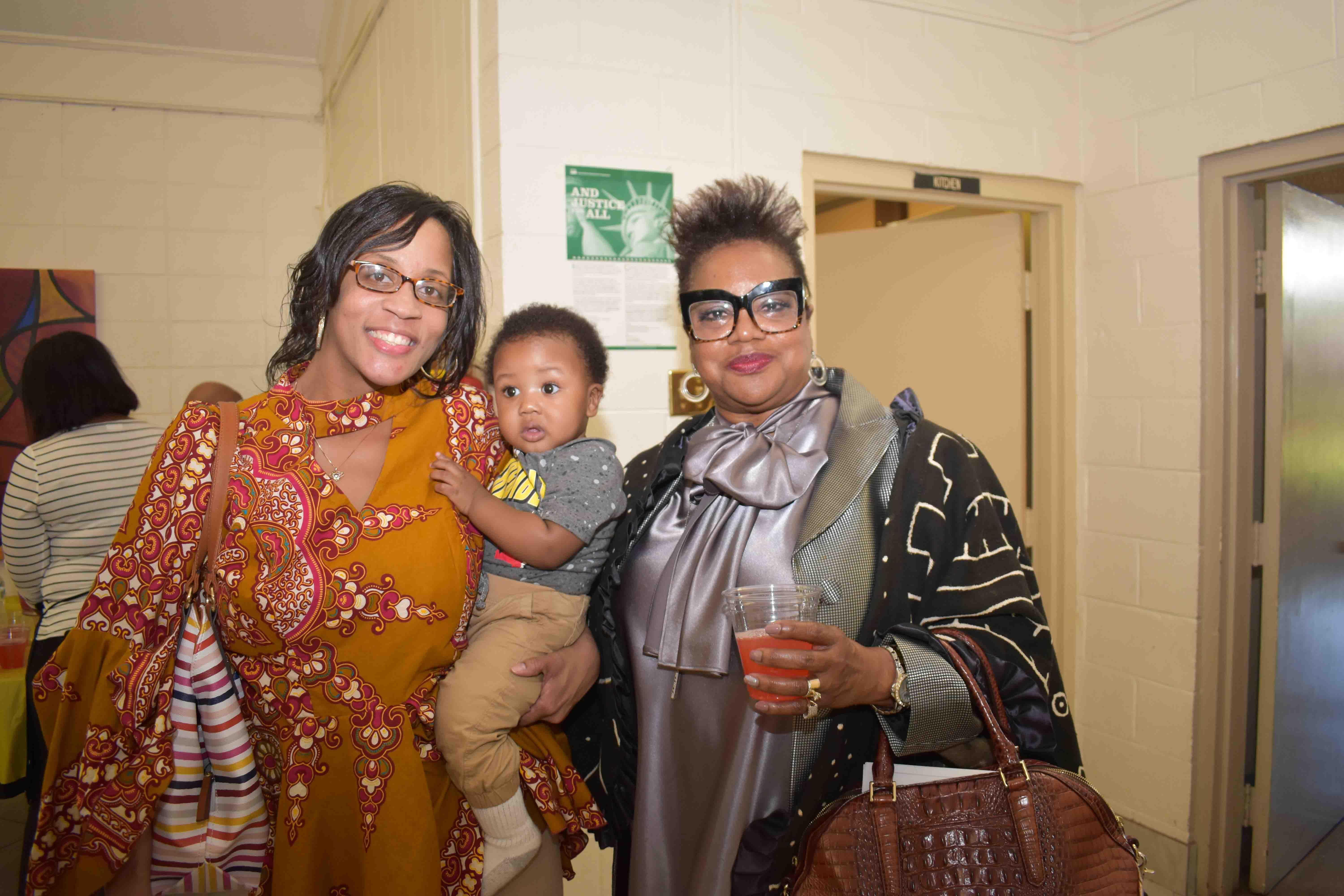 Latasha Roberts, Wiley Roberts, Rev. Betty Tolefree