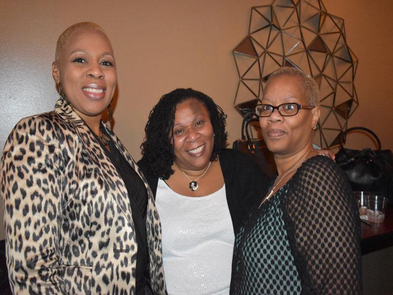 Hazel Harris, Shirley Tyson, Patricia Watson