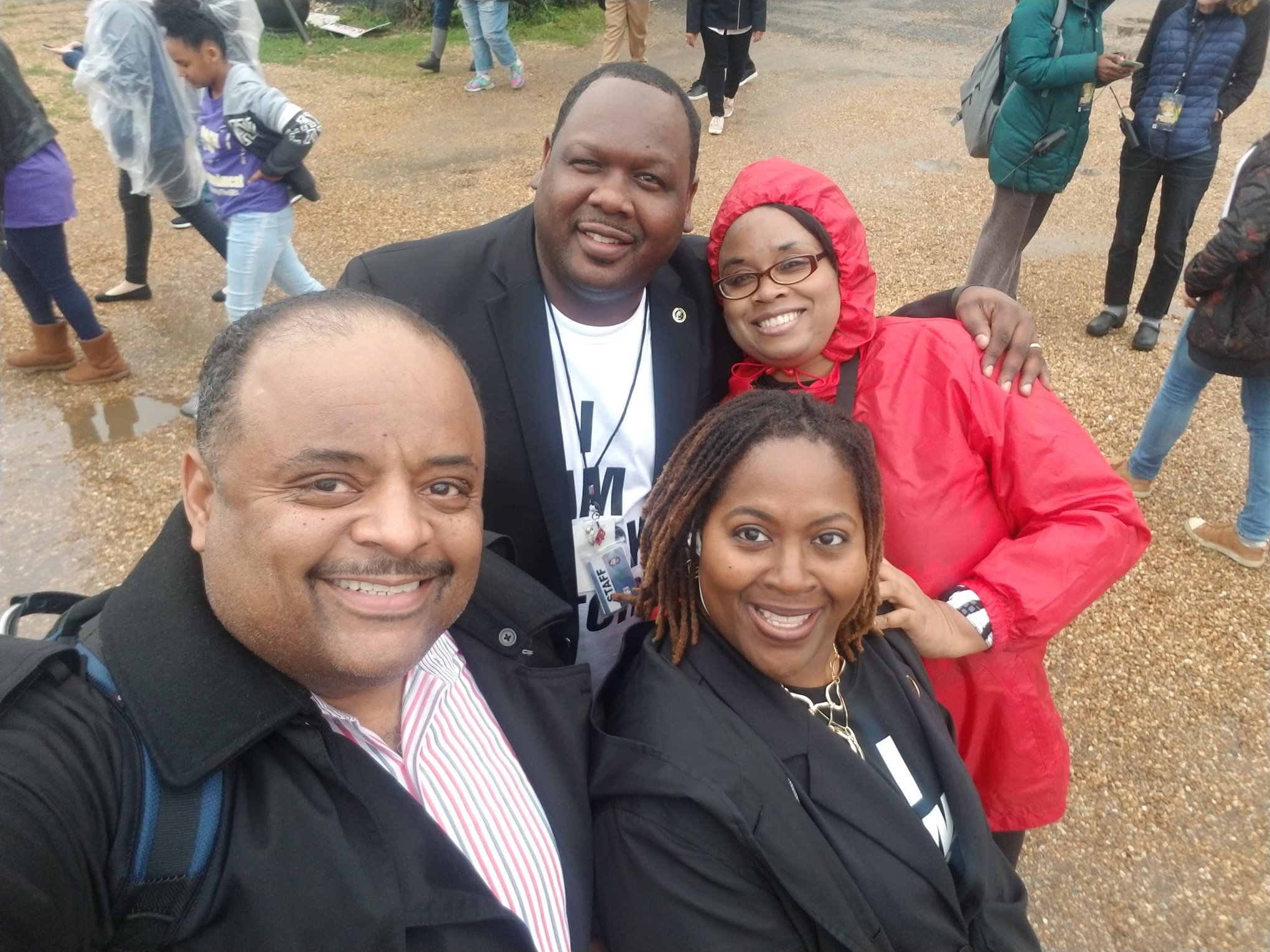 Roland Martin, DuShun Scarbrough, Tiffany Pettus, Diana Shelton