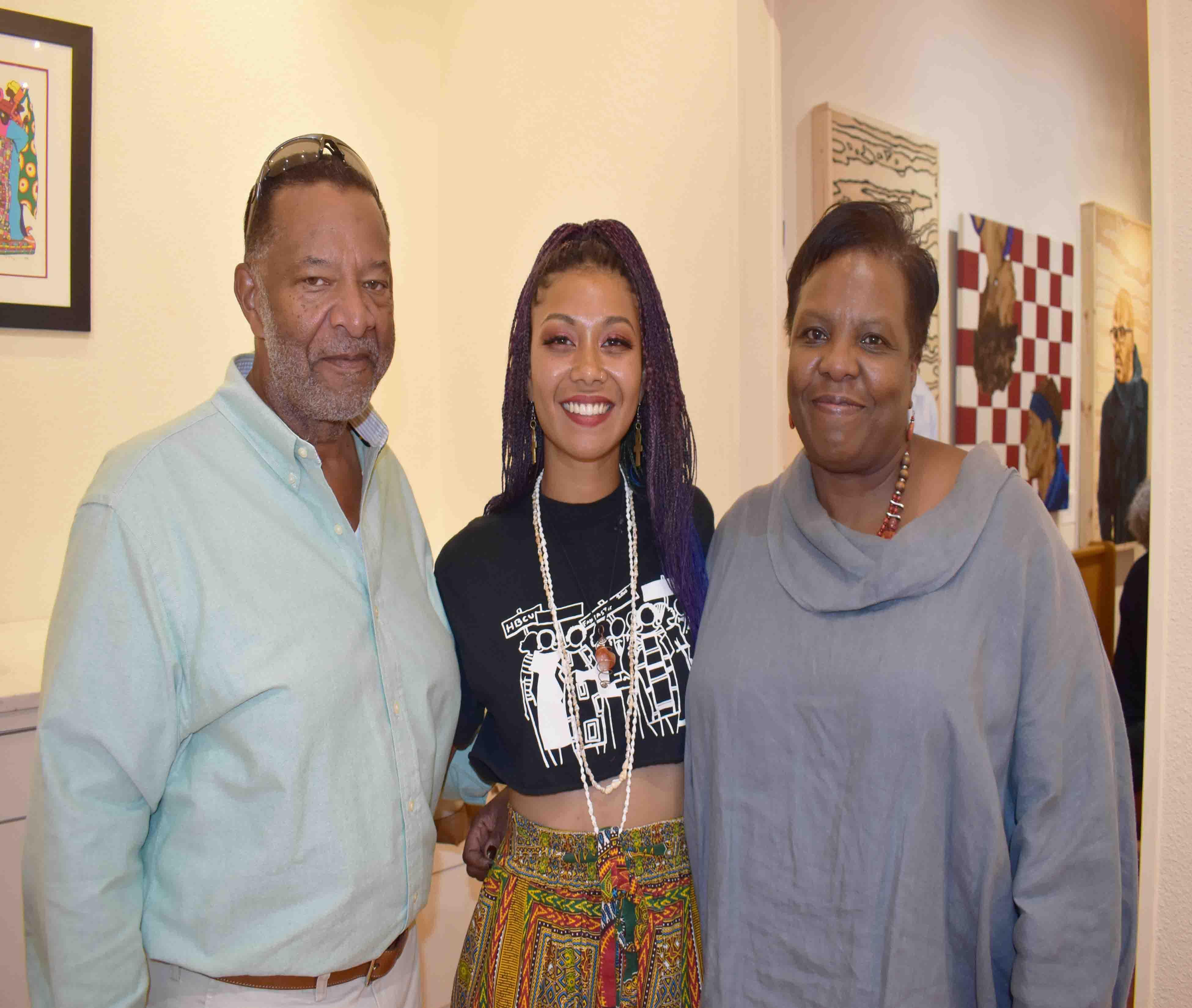 Darryl Finney, Seidah Muhammad (Austin, TX), Becky Finney