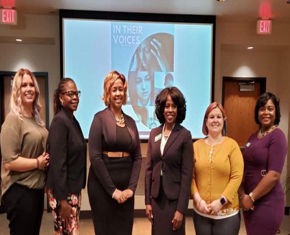 Dr. Sara Jones, Tara Shepherd, Keesa Smith, Tjuana Byrd, Dr. Johana Thomas, ShaRhonda Love