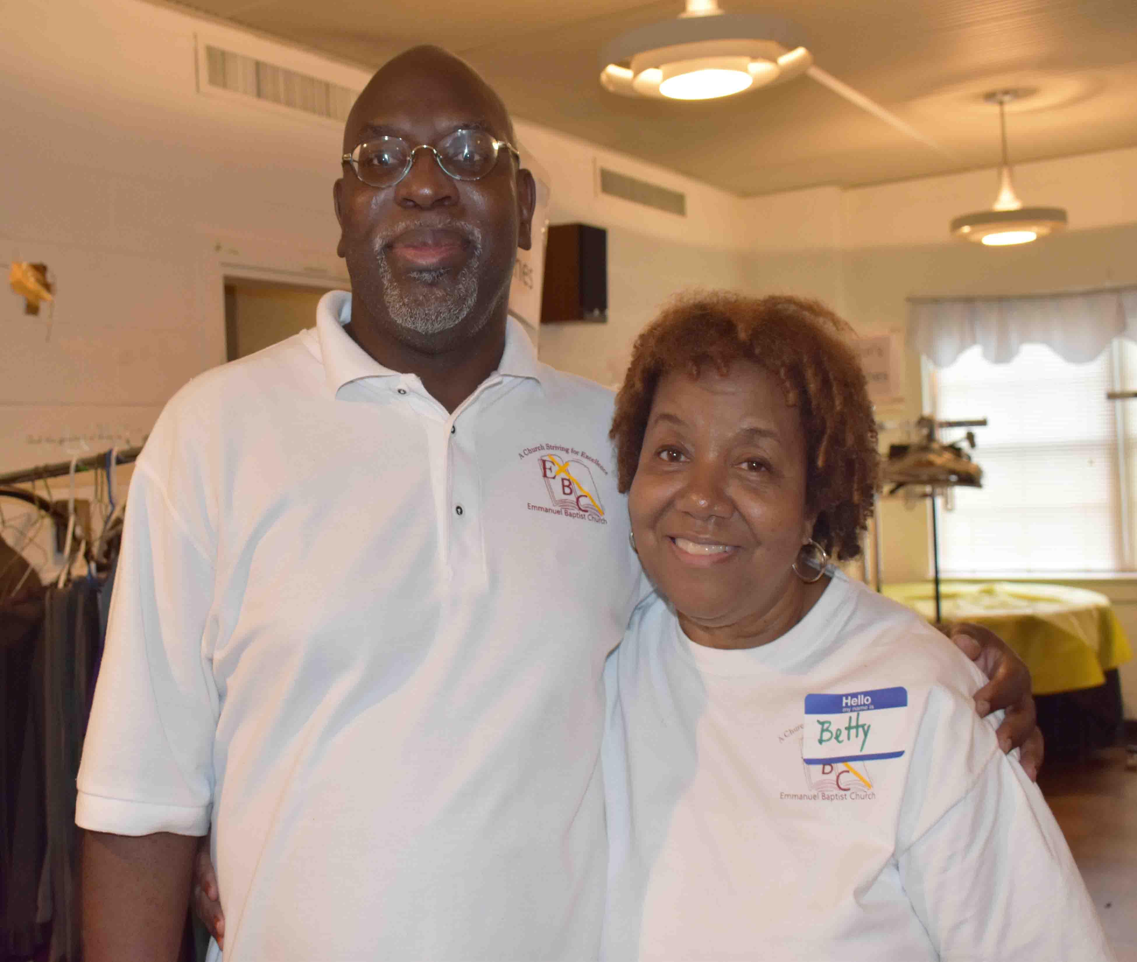Dr. Tim Edwards, Betty Hicks