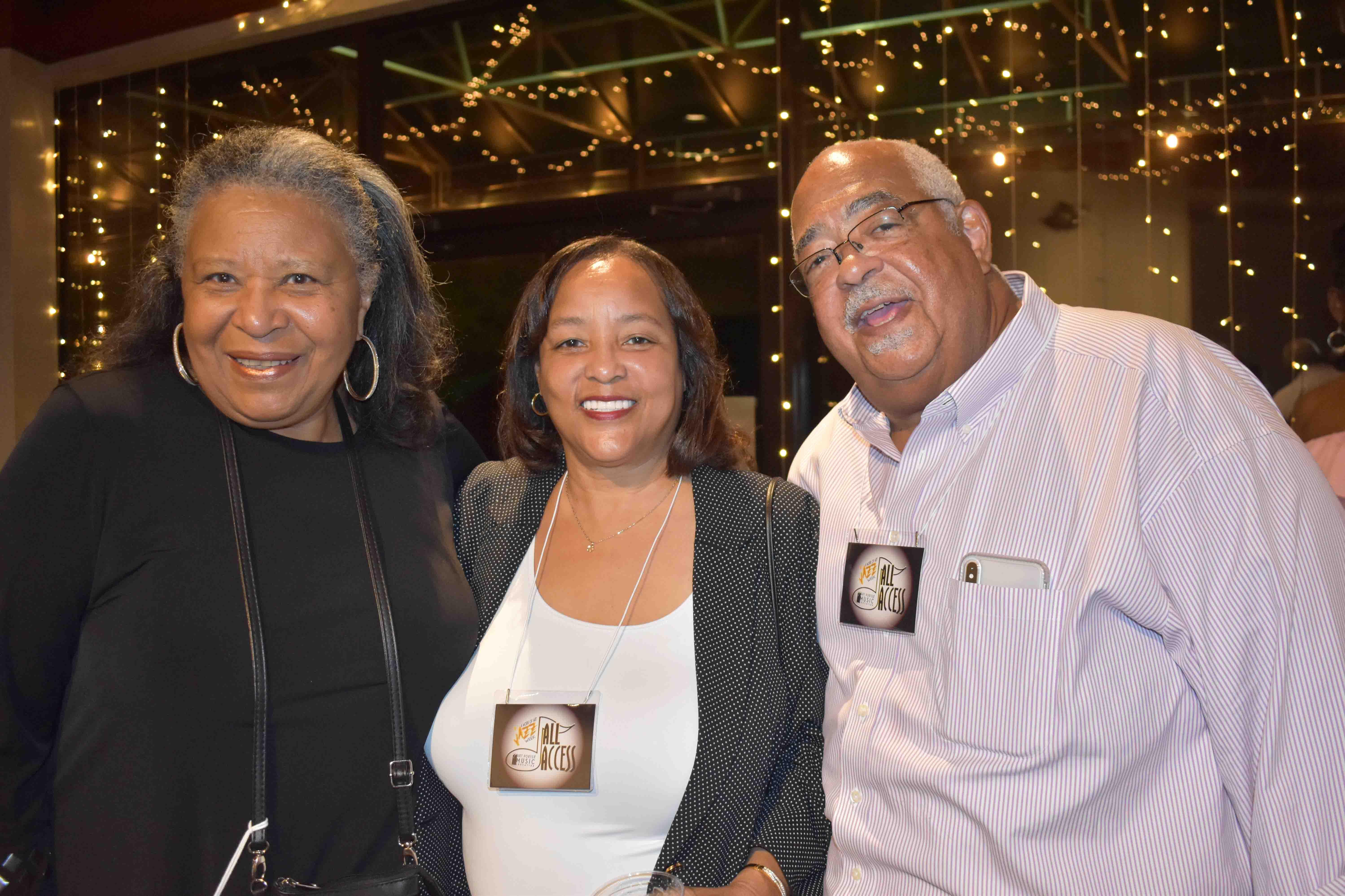 Phyllis Brown, Cheryl & Dr. William Rutledge