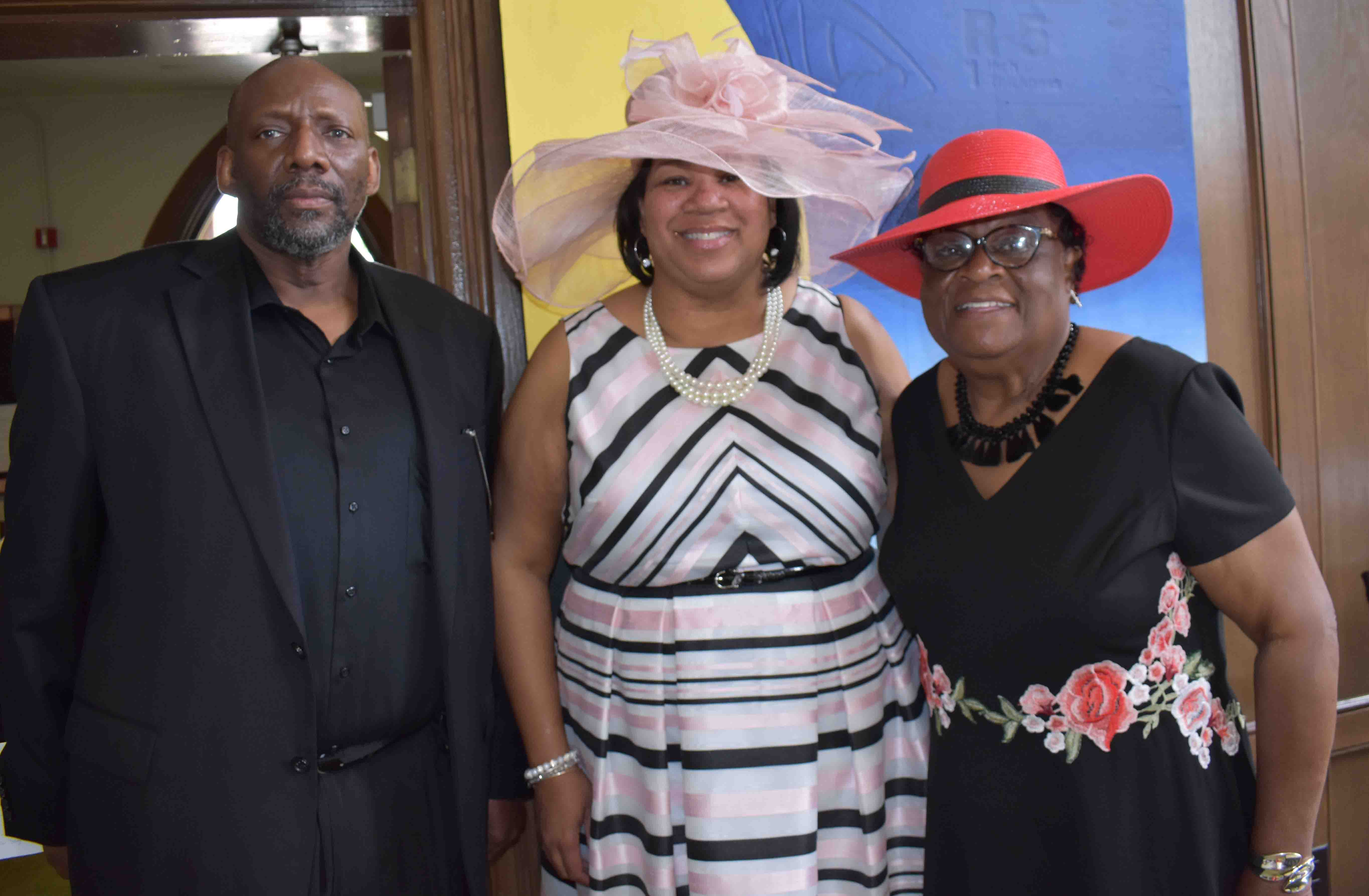 R.S. McCullough, Kimbelry Mayberry, Virginia Burks