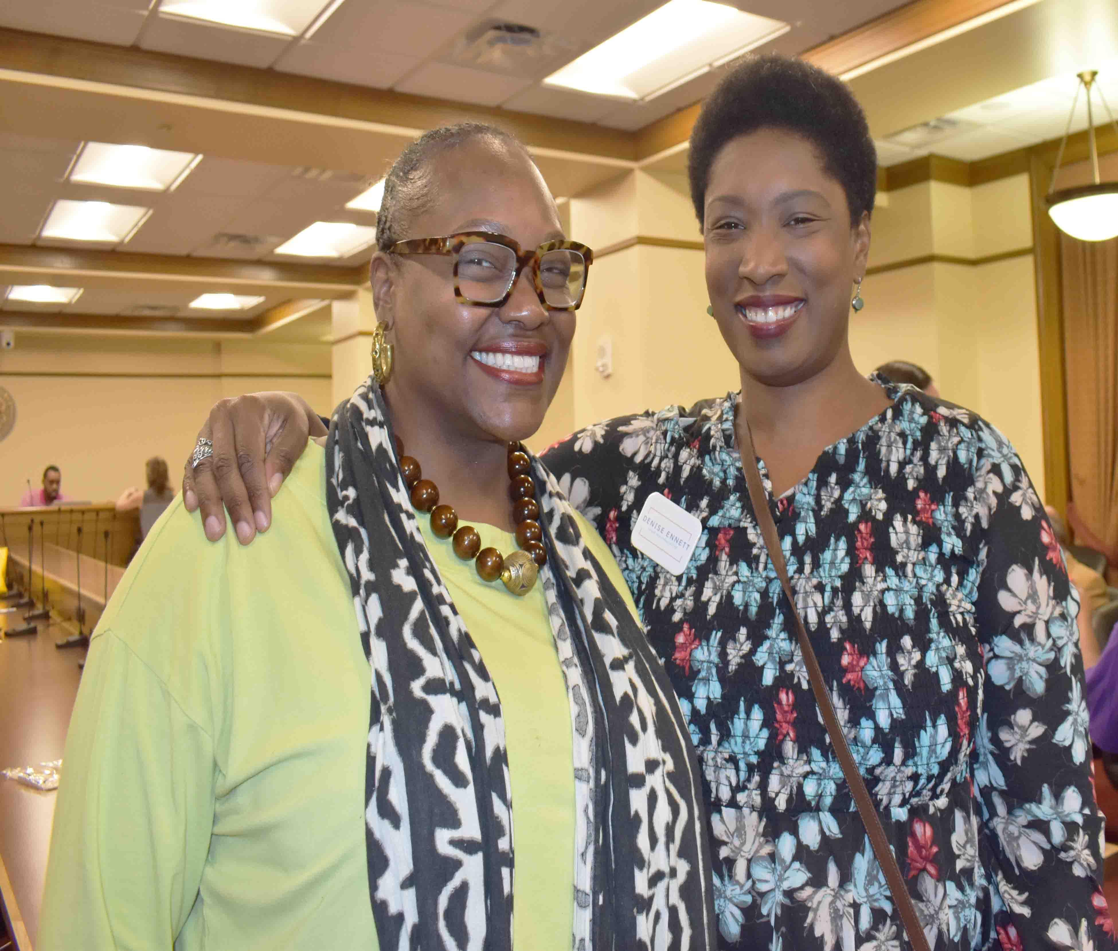 Rep. Vivian Flowers, Denise Ennett