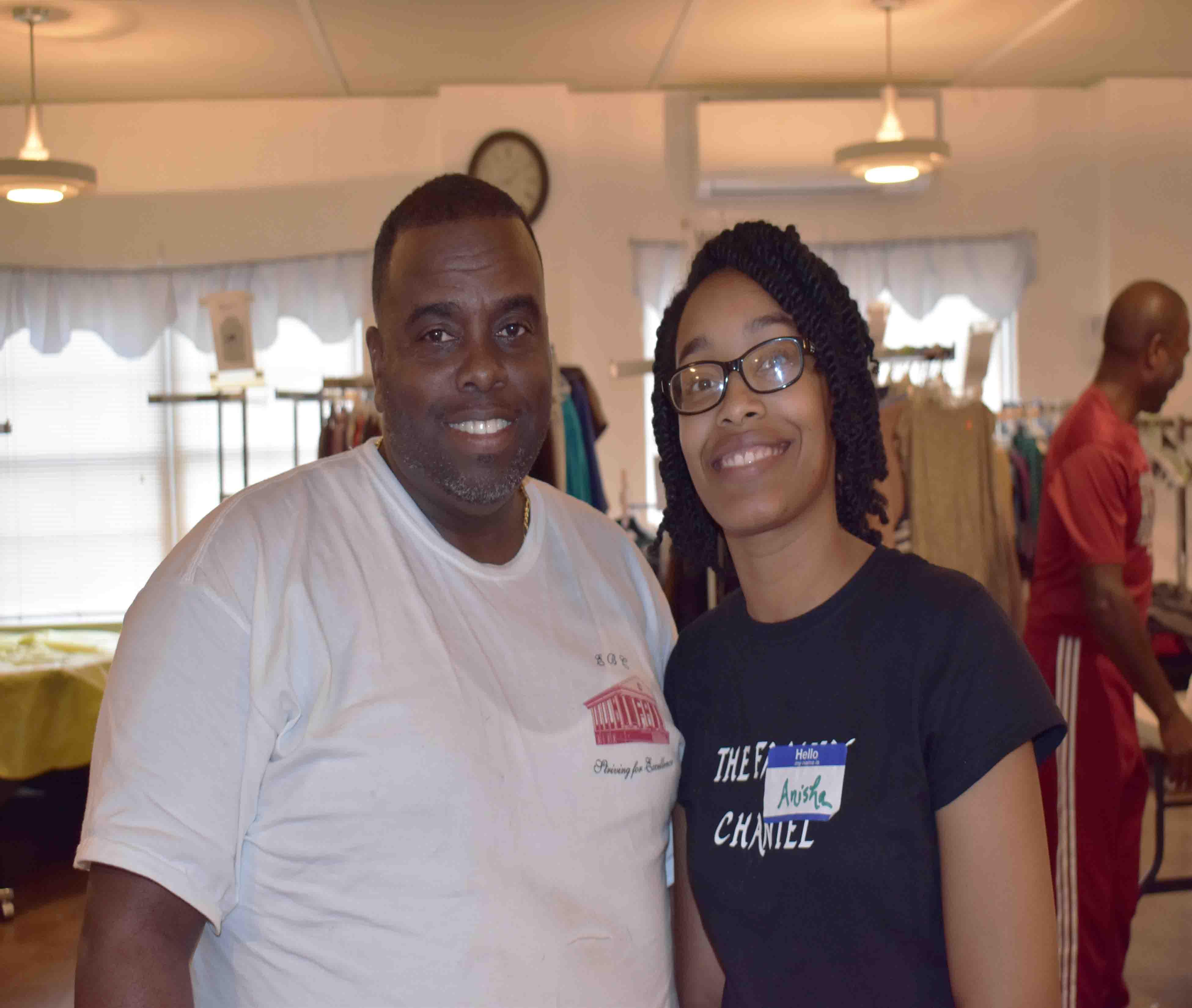 Rev. Al Morgan, Anisha Brooks