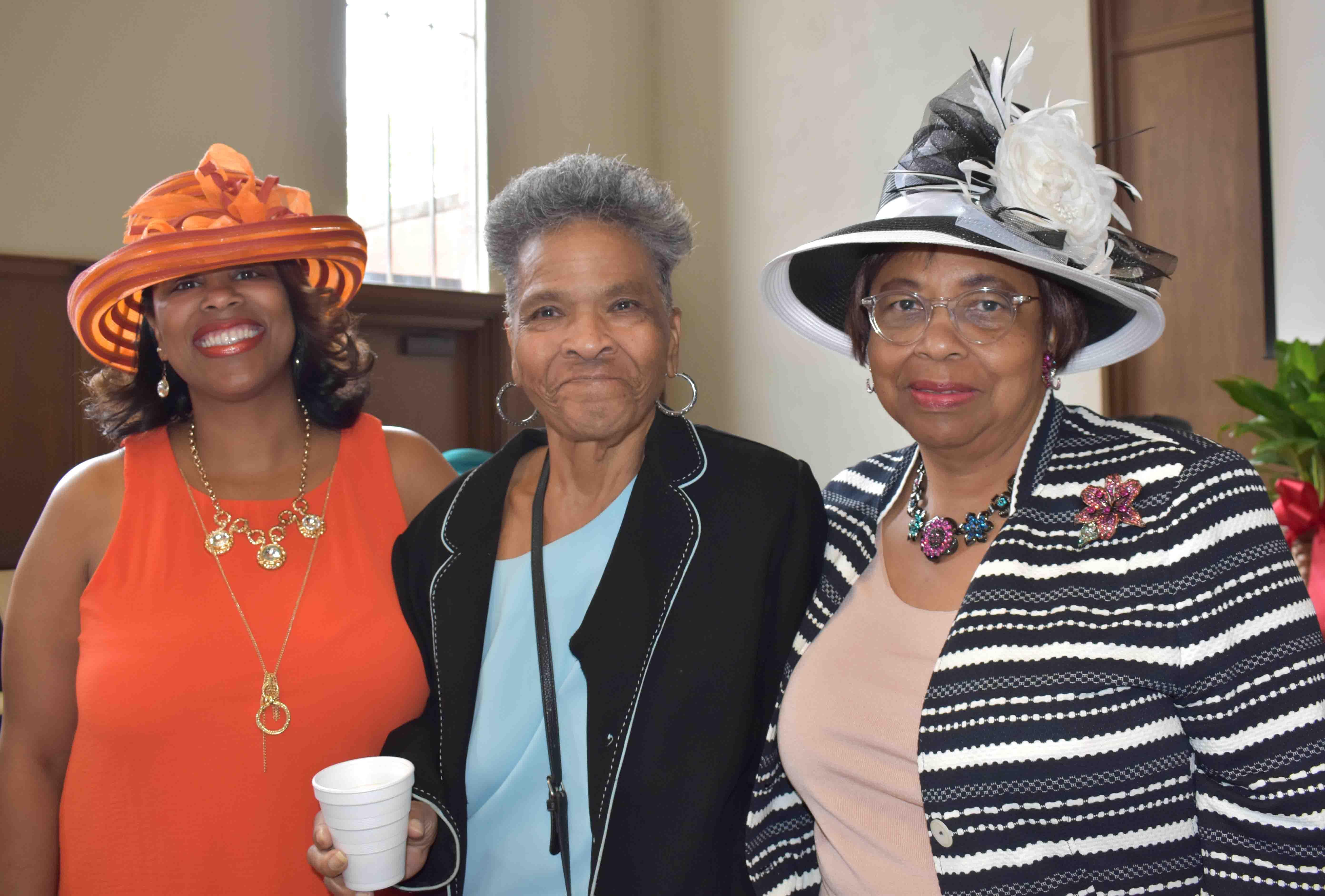 Rev. Tameka Lamb Green, Dr. Katherine Mitchell, Mary Bell