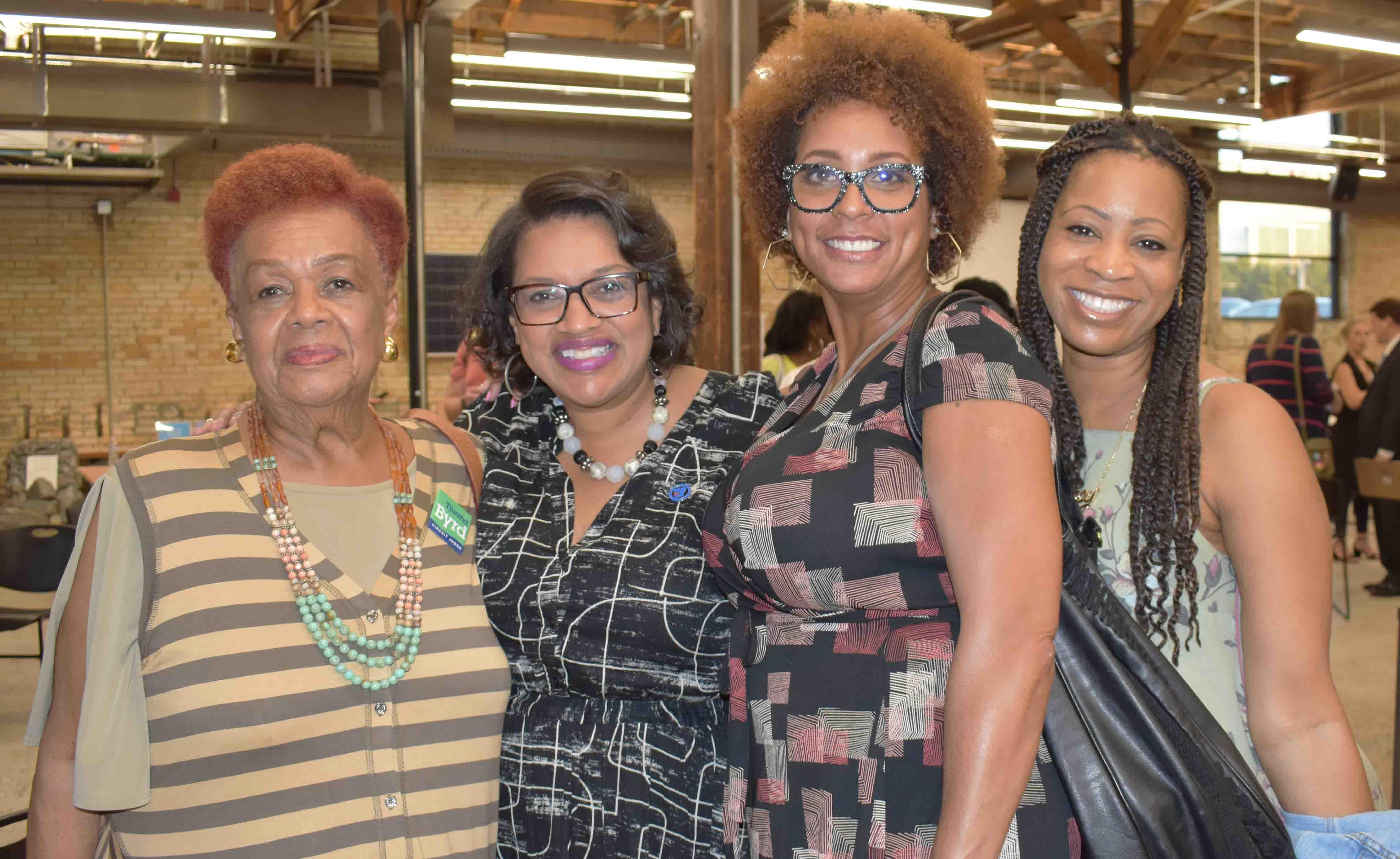 Claudette Votor, Debra Mitchell, Suzanne Ornelas, Faith Seahorn