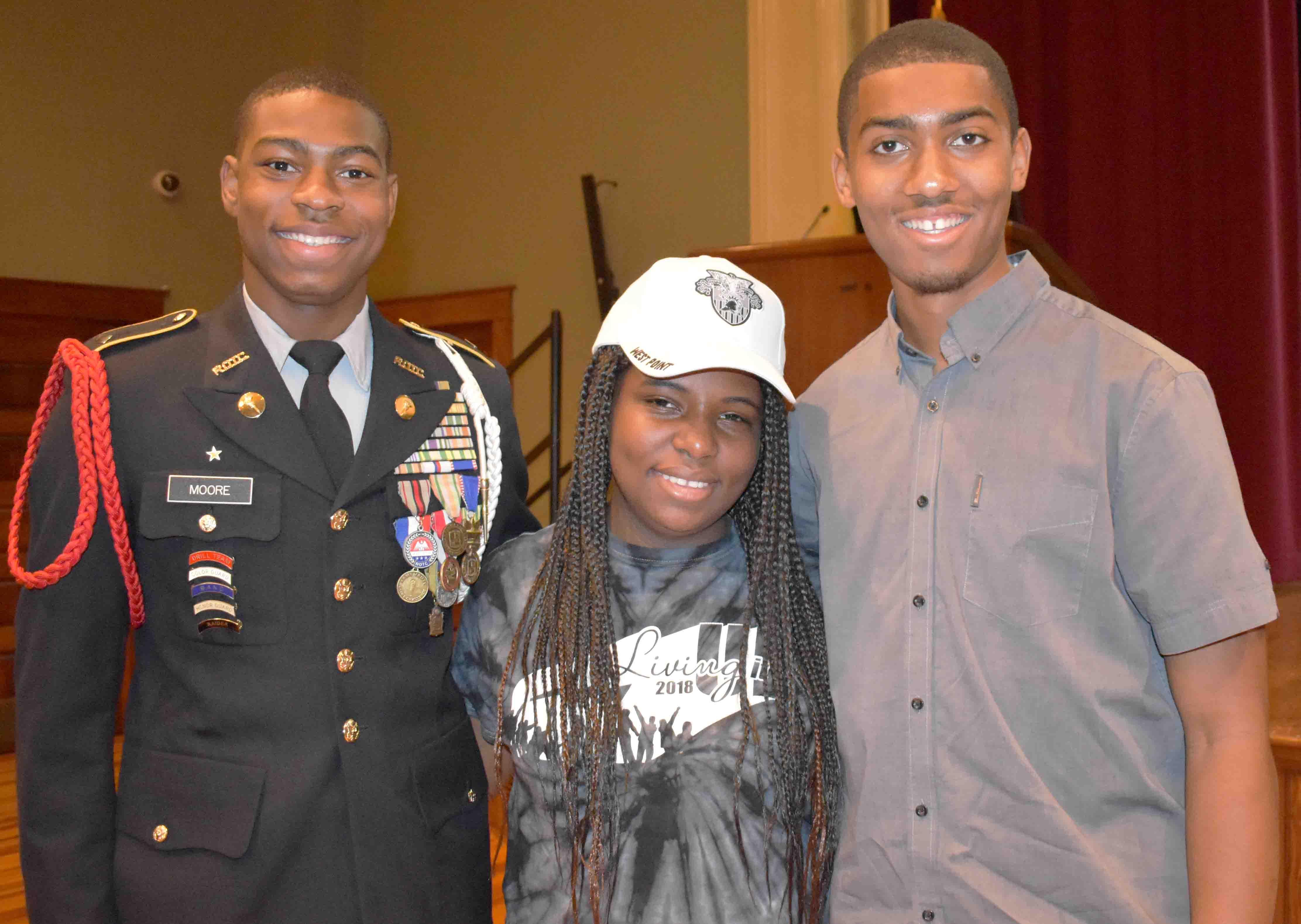 Daniel Moore (Pine Bluff), Kennedy Morris, Caleb Williams