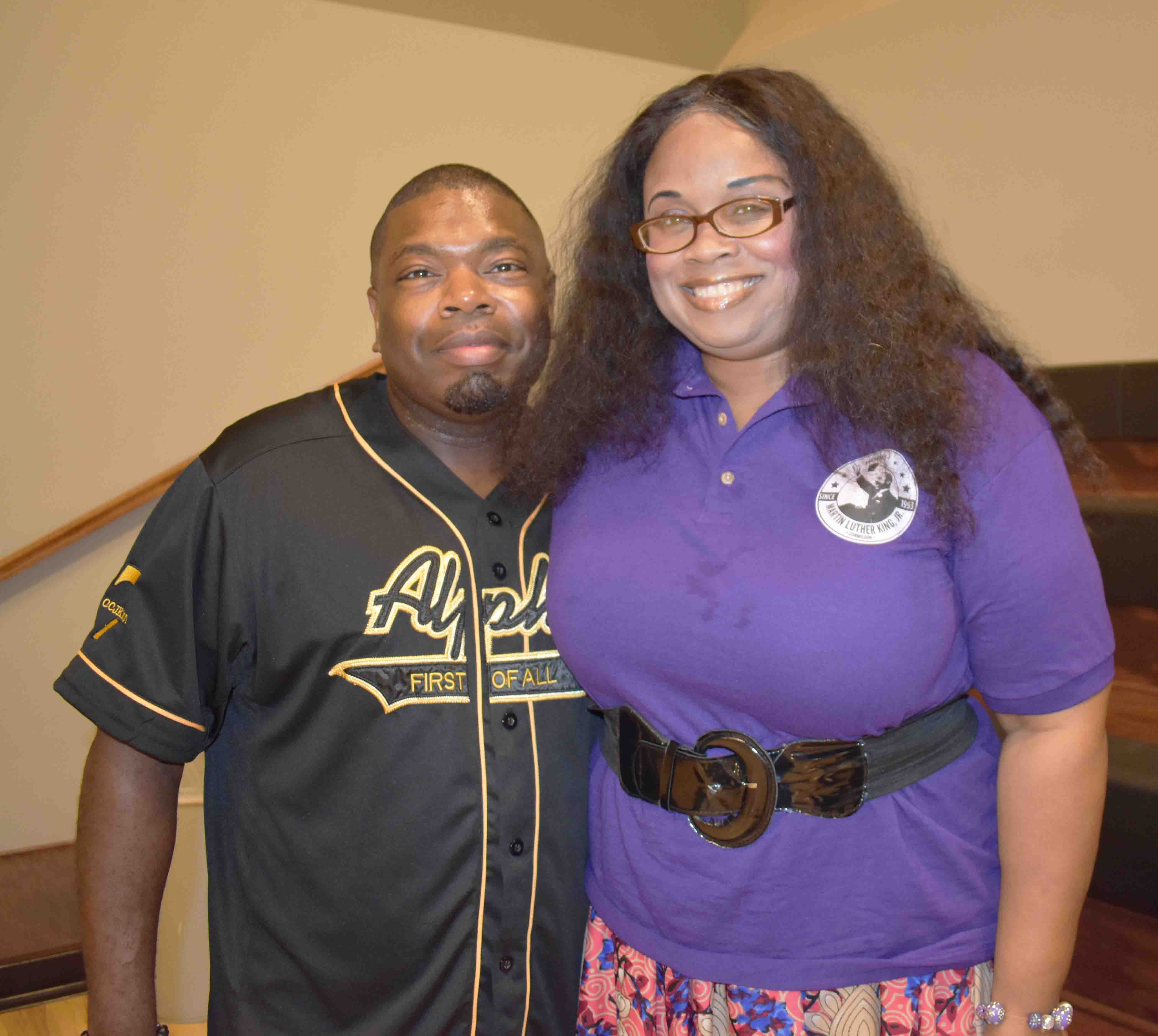 Dr. Rodney Williams, Tiffany Pettus