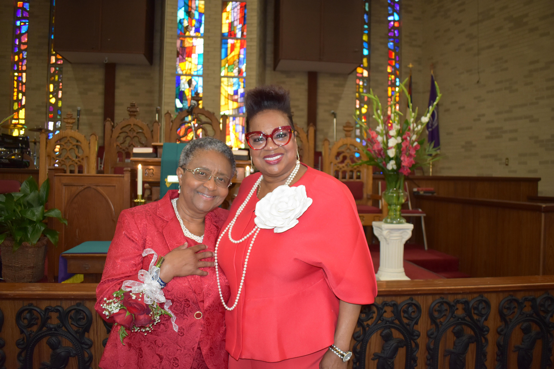Dr. Sybil Jordan Hampton, Rev. Betty Tolefree