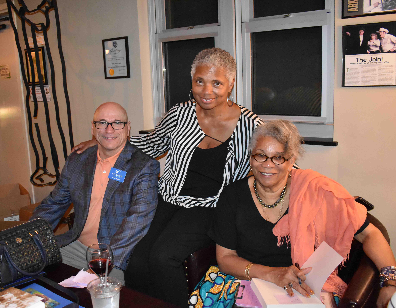 John Gaudin, Garbo Hearne, Dr. Jessica B. Harris (Brooklyn, NY)