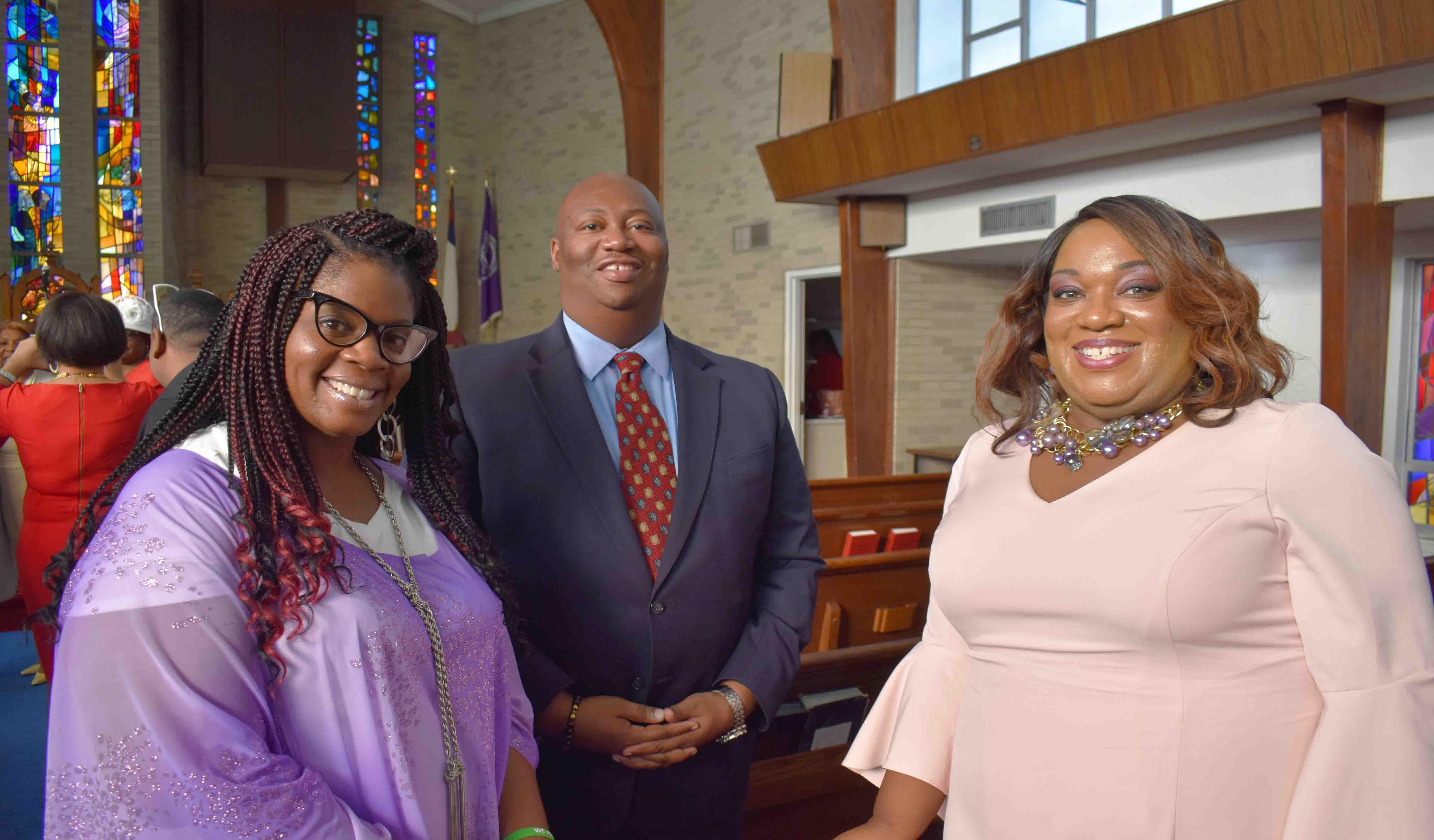 LaFrancis Pfifer, Lee Honorable, Shayla Alexander