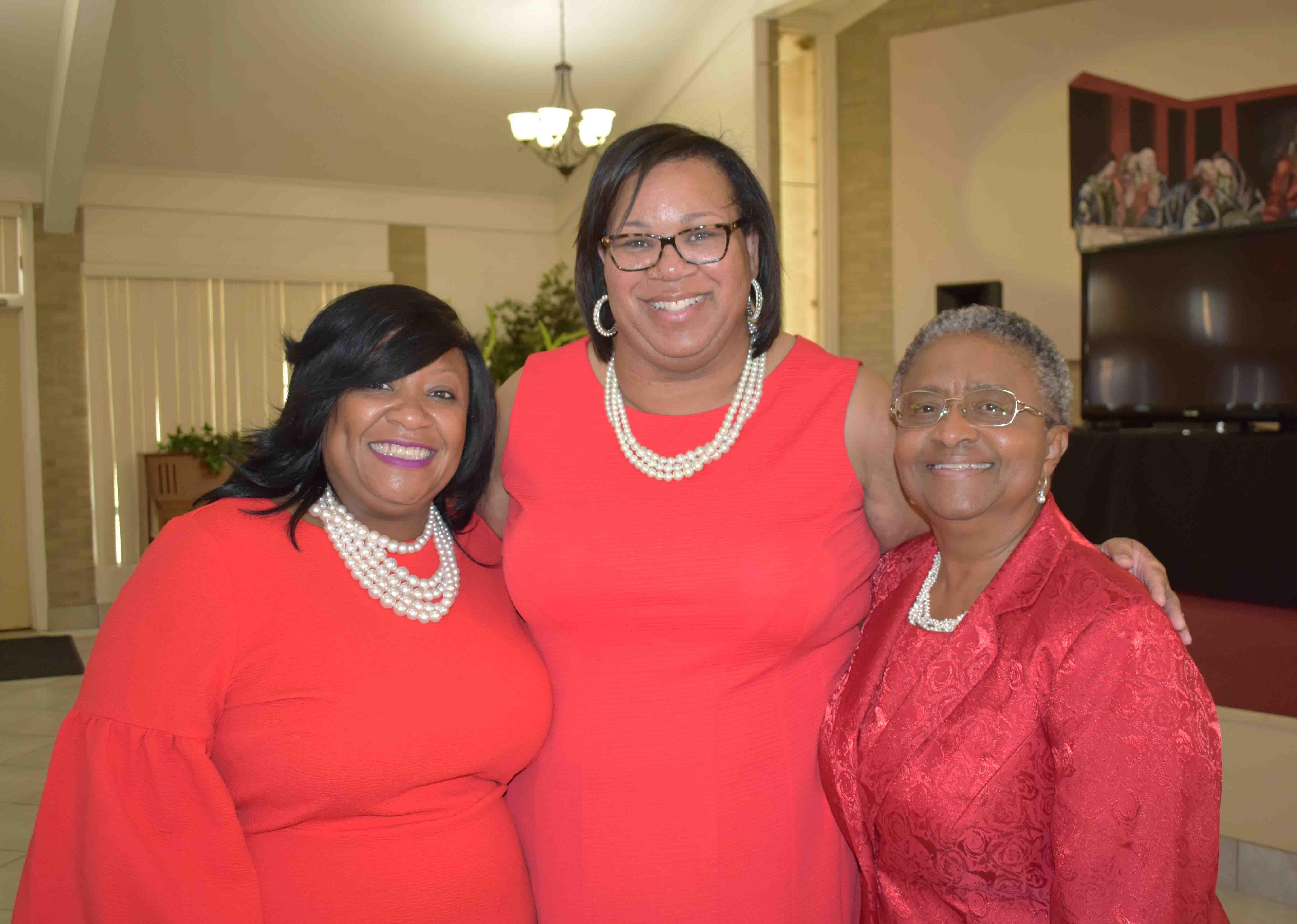 LaTonya Austin, Kim Mayberry, Dr. Sybil Hampton