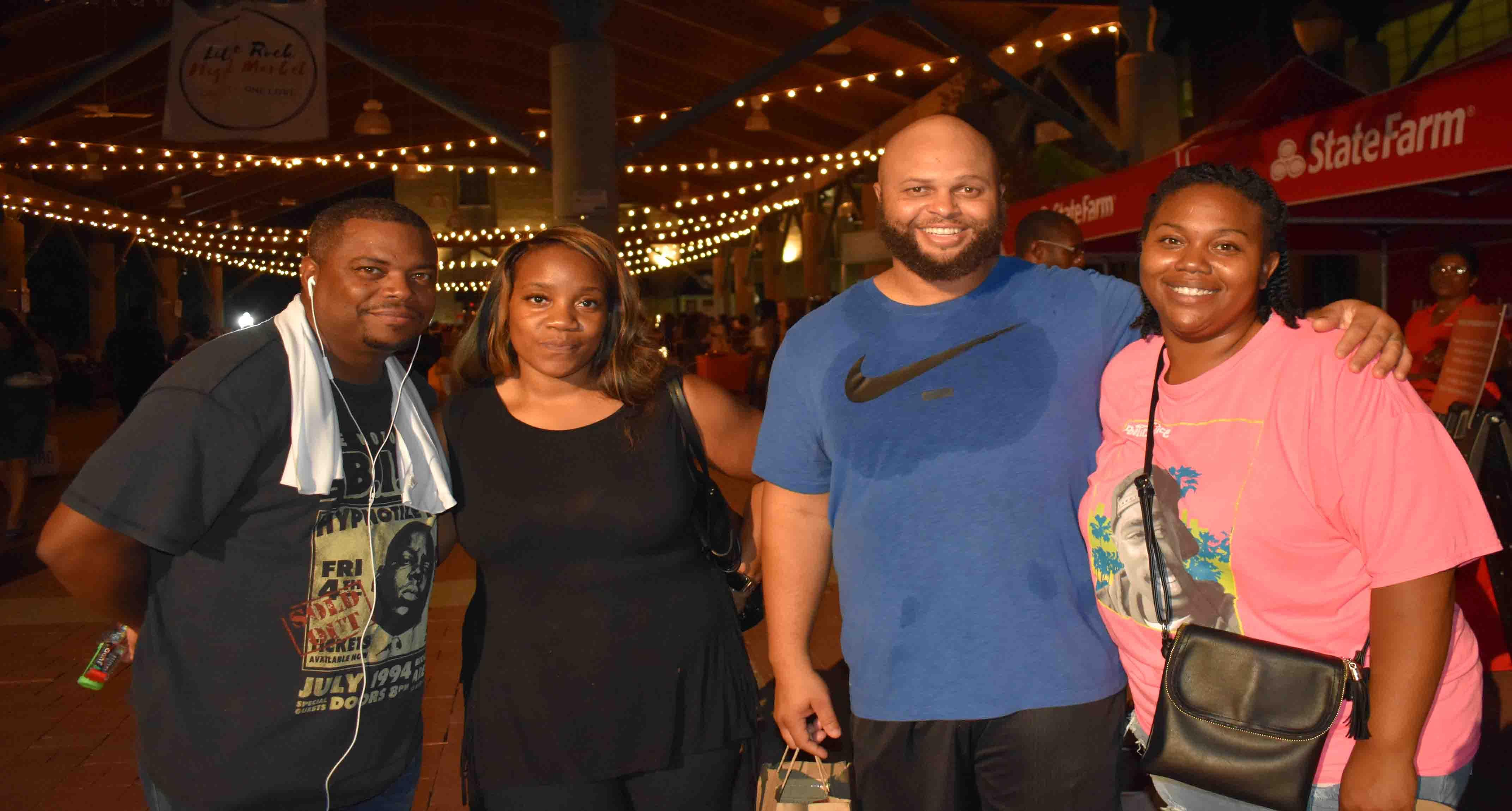 Ray & Vanyelle Lewis, Xavier & Sarita Hendrix