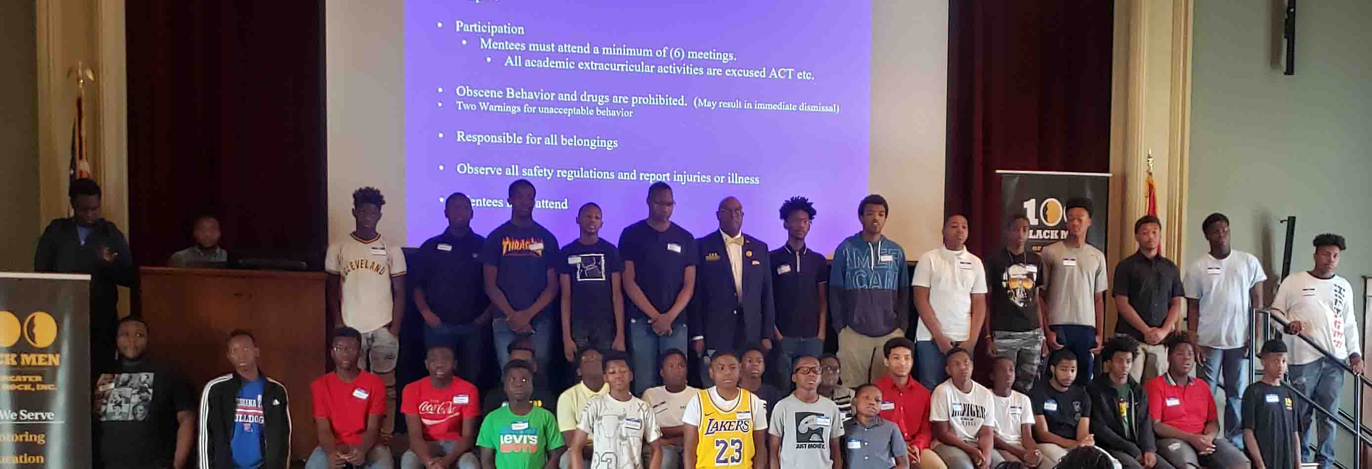 100 Black Men Orientation – The Kids