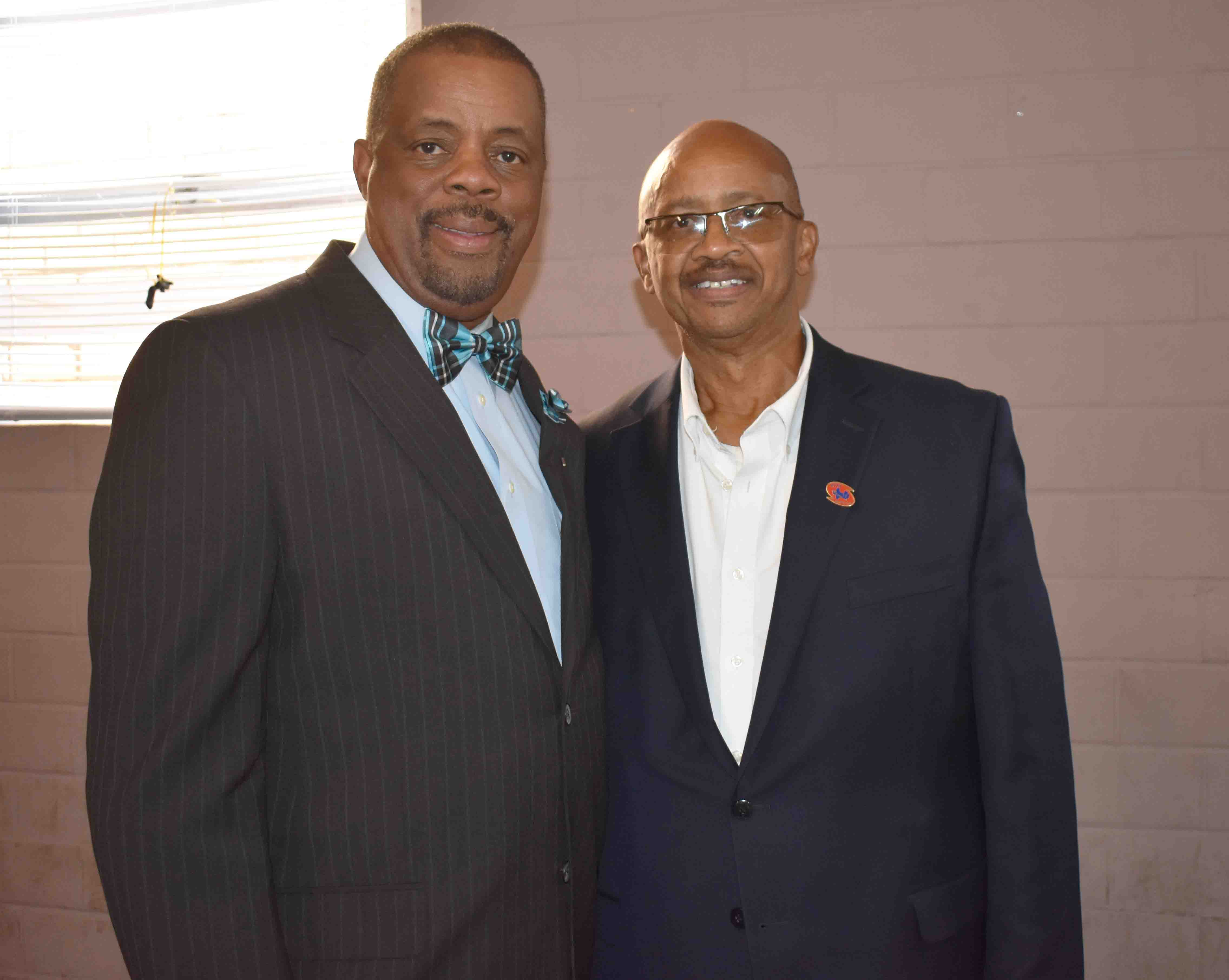 City Councilman Ivan Whitfield,  City CouncilmanDonald Hatchett  (Pine Bluff)