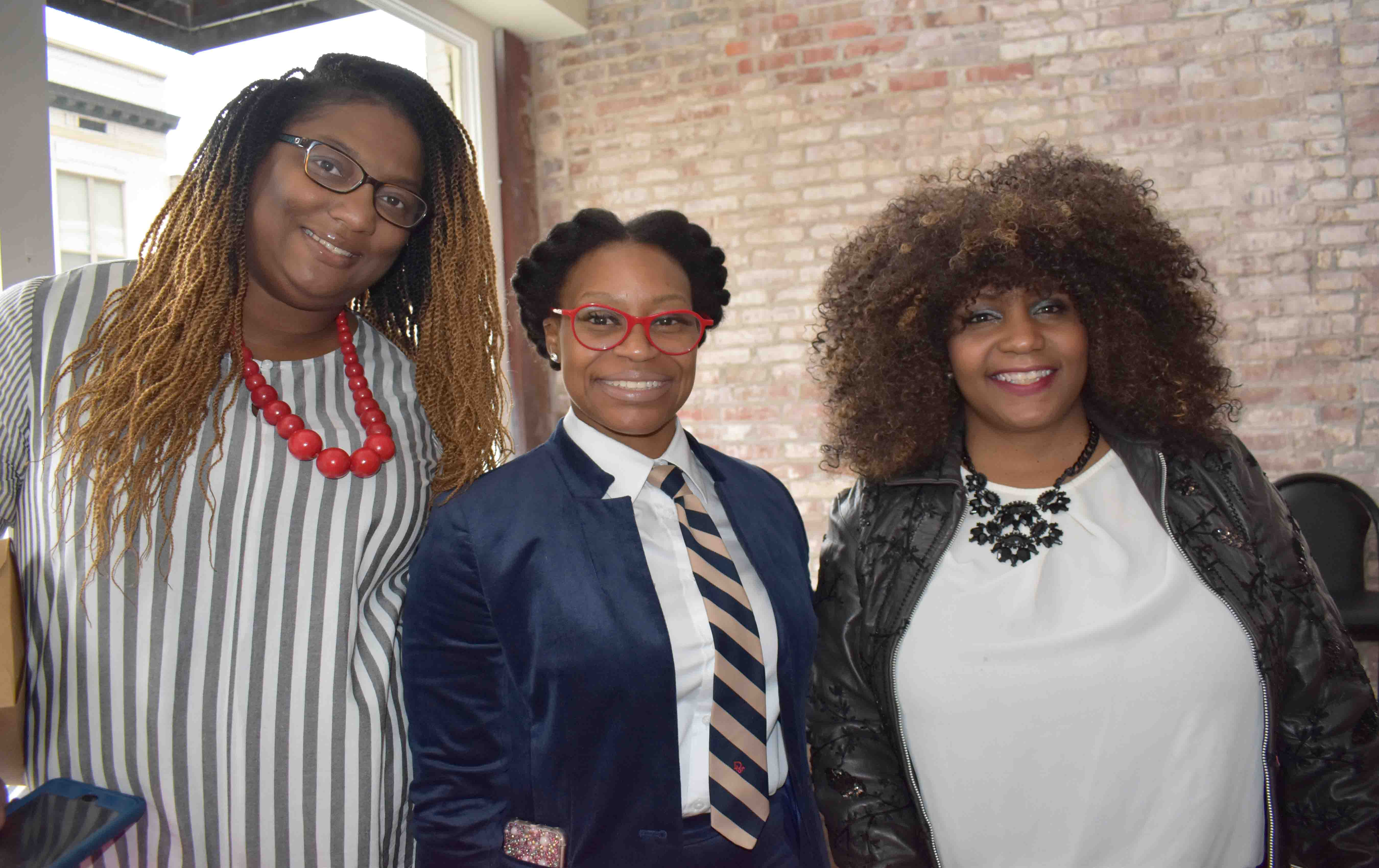 Jasmine Thomas, Amanda Johnson, Kaye Simpson