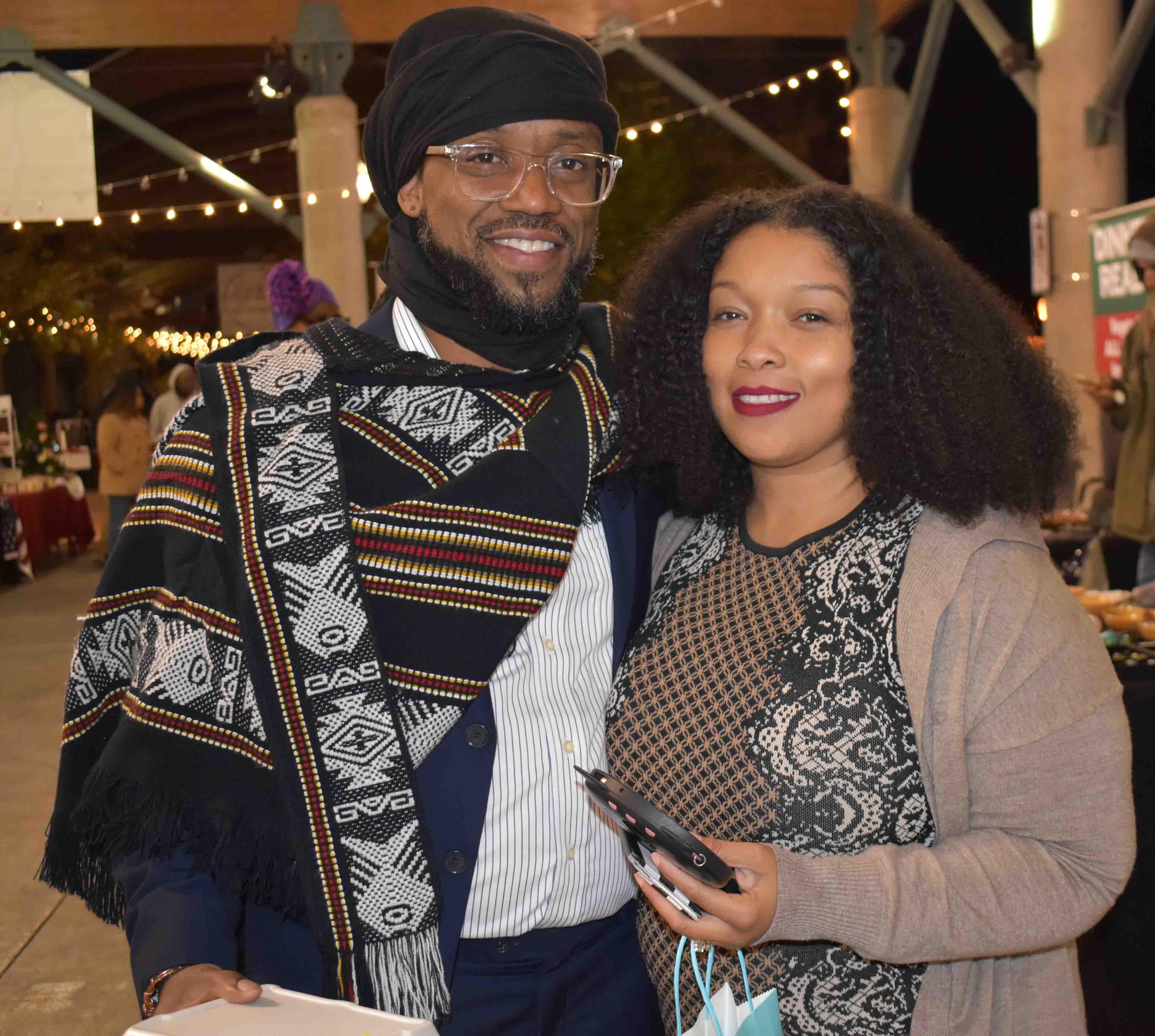 Marashal and Ebony Charles