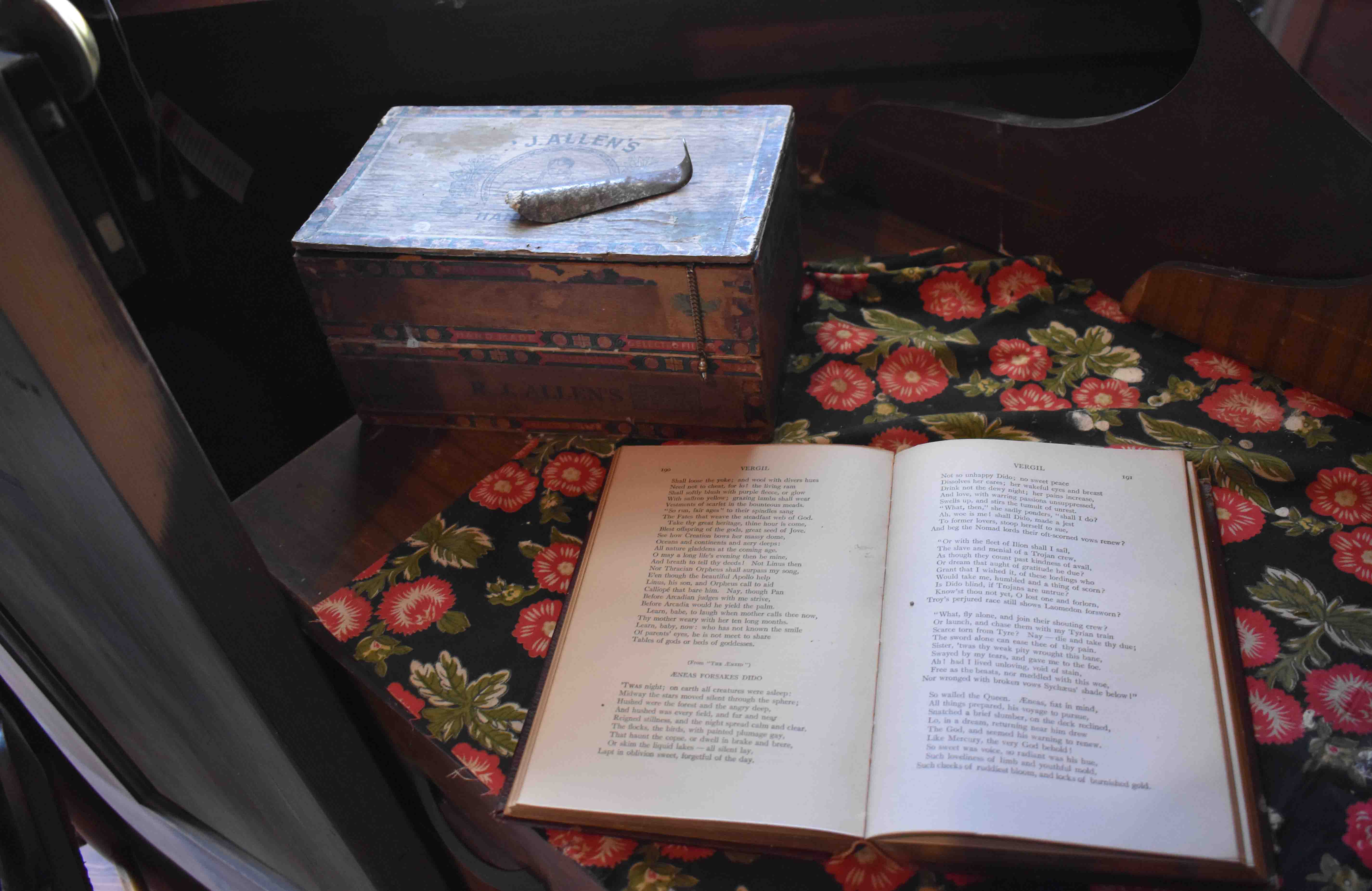Relic in John H. Johnson's Childhood Home