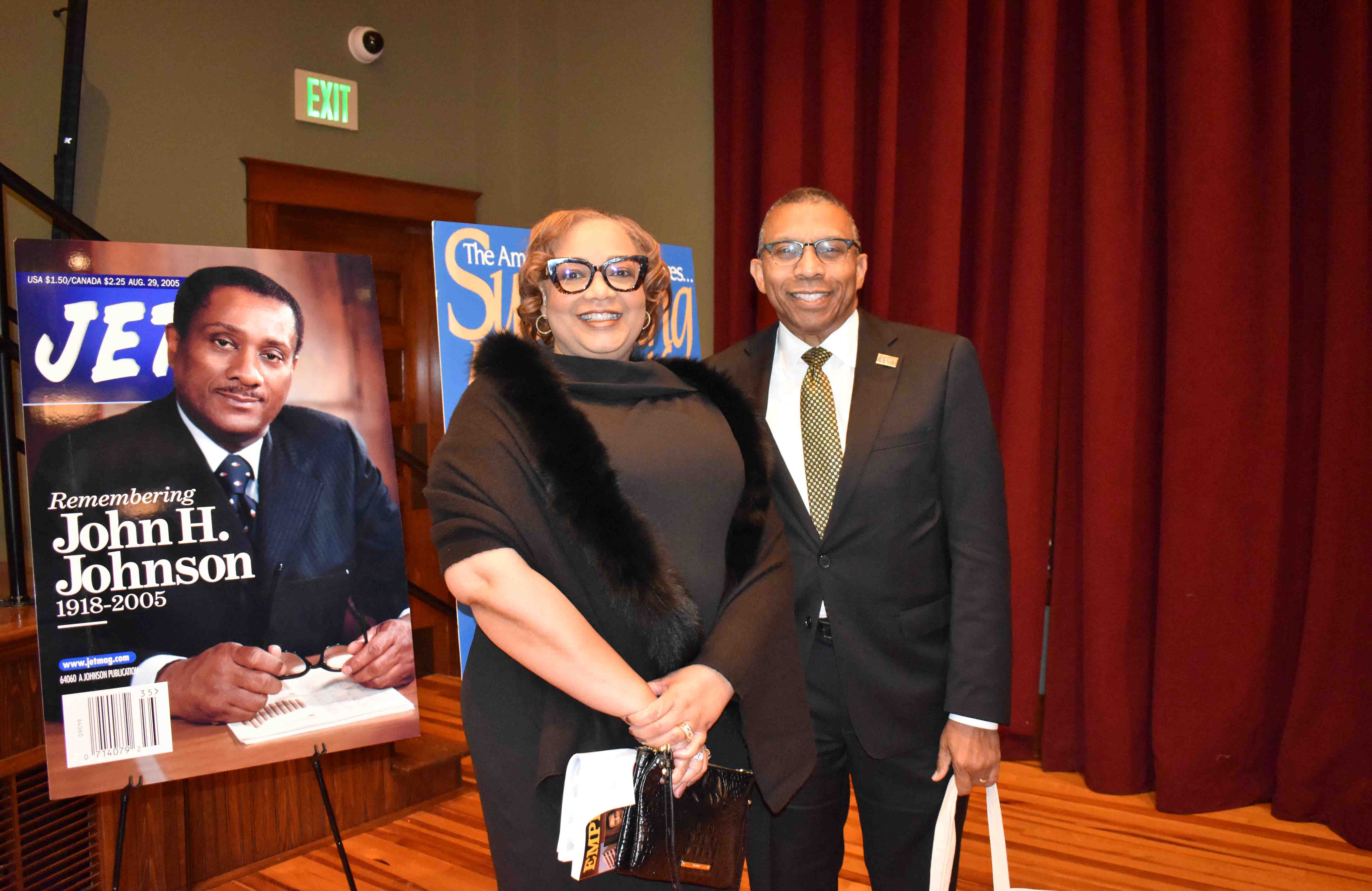 Veronica & UAPB Chancellor Dr. Laurence Alexander (Pine Bluff)