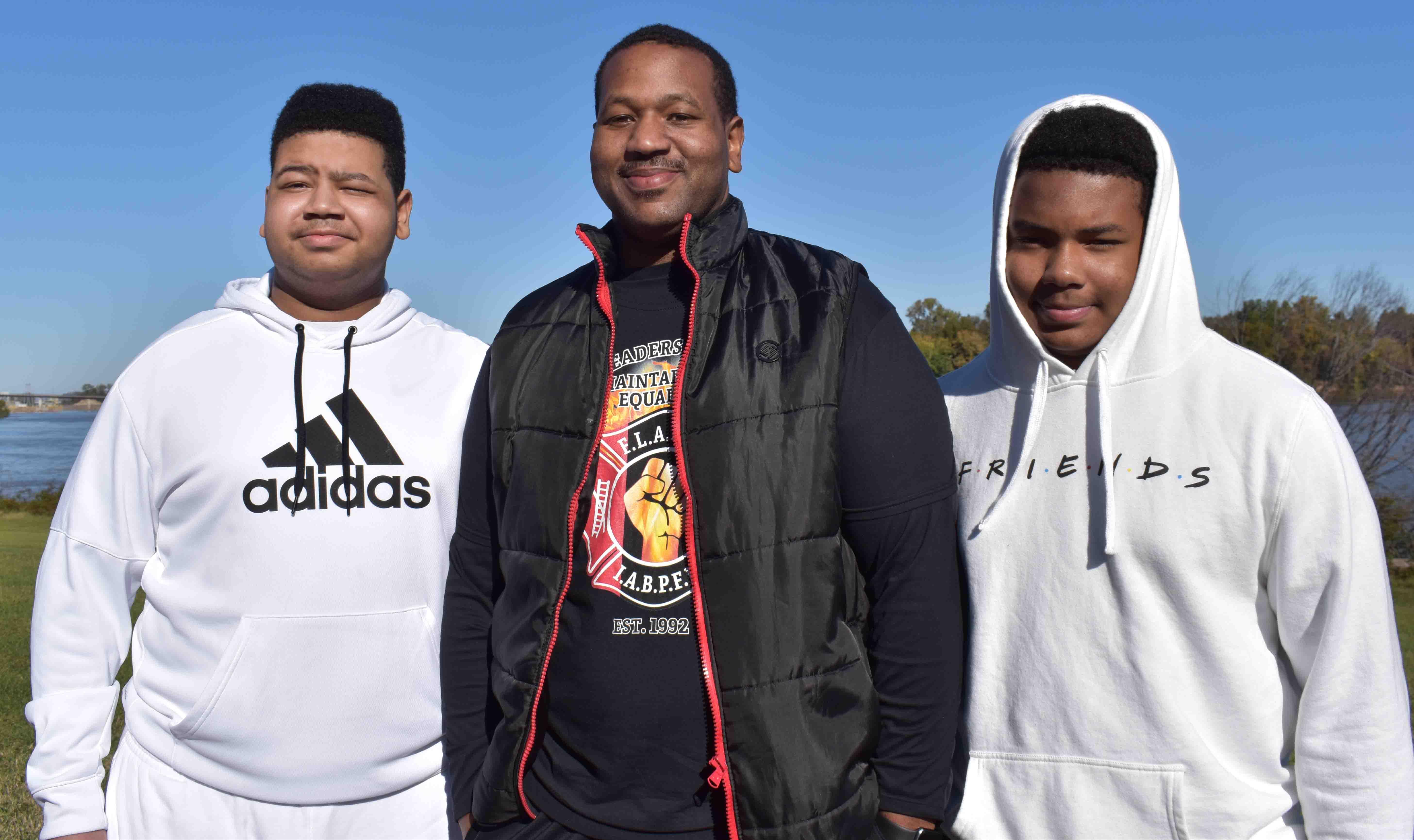 Zavier, Eric, and Zylin Hilldreth